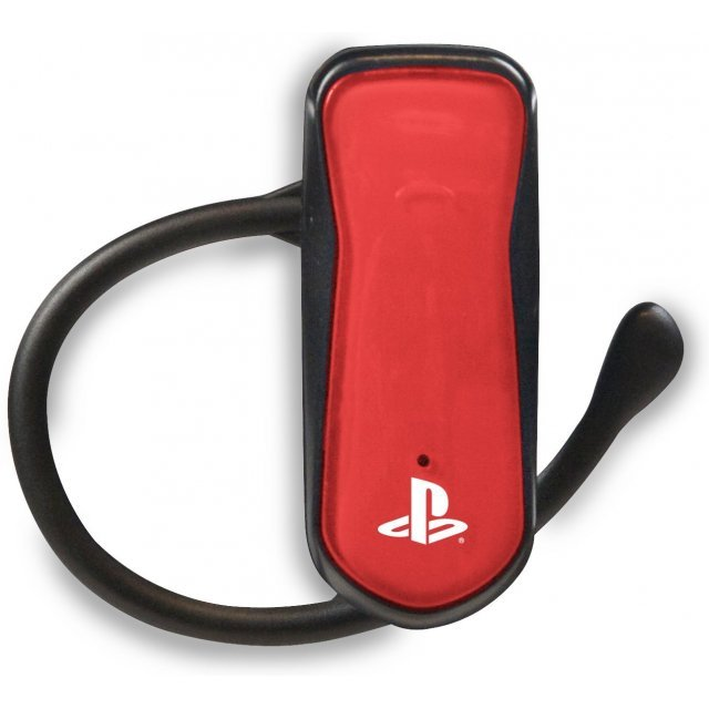 4Gamers PS3 Mono Bluetooth Headset (Red)