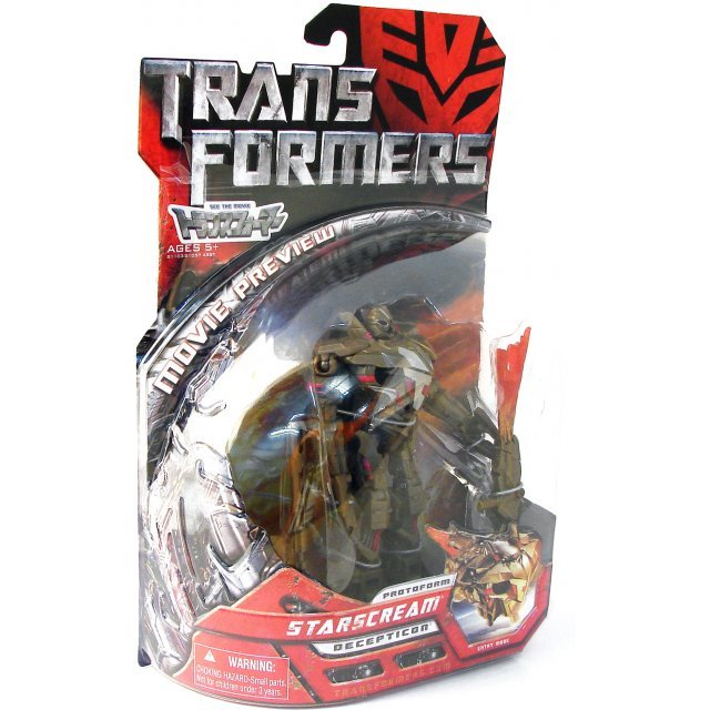 The Movie Transformers Non Scale Pre-Painted Action Figure: MD-05 Protoform Starscream