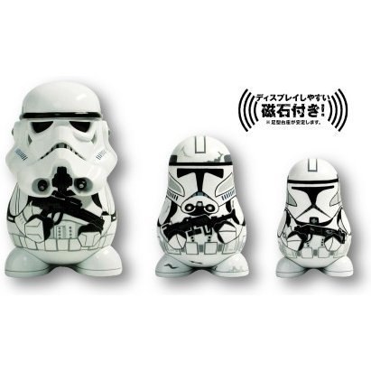 Chubby Series 2 Star Wars Non Scale Pre-Painted Figure: Stormtrooper