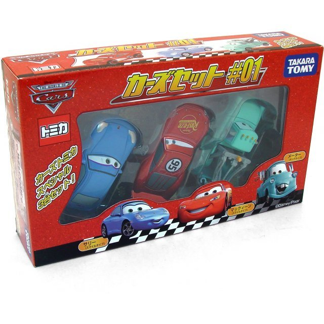 Tomy Collection Cars Set 1