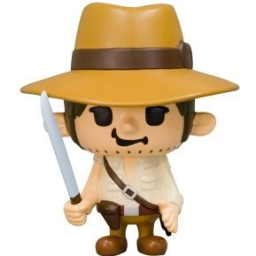 Indiana Jones Non Scale Pre-Painted Soft Vinyl Figure: Indiana Jones