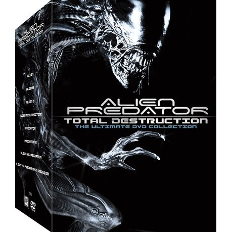 Alien Predator Total Destruction [17 DVD Boxset]