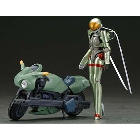 Bubblegum Crisis 1/15 Scale Pre-Painted PVC Action Figure: Motoslave Linna