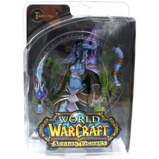 World of Warcraft Series 3 Pre-Painted Figure: Dranei Mage: Tamuura