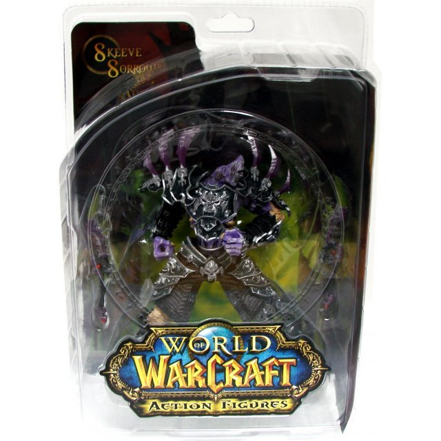 World of Warcraft Series 3 Pre-Painted Figure: Undead Rogue: Skeeve Sorrowblade