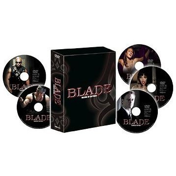 Blade Blood Of Cason DVD Box