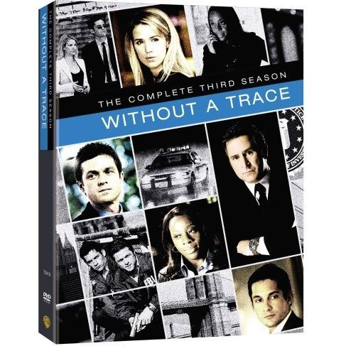 Without A Trace Third Season Collector Box