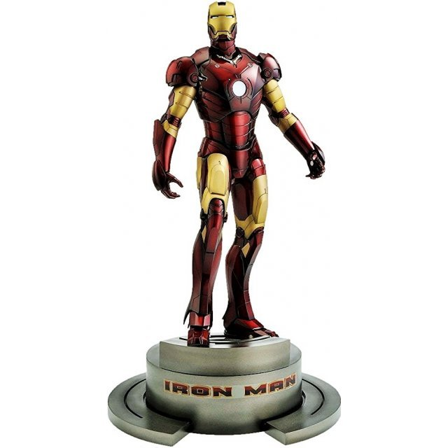 Marvel Iron Man 1/6 Scale Pre-Painted Cold Cast Fine Art Statue: Iron Man