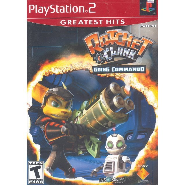 Ratchet & Clank: Going Commando (Greatest Hits)