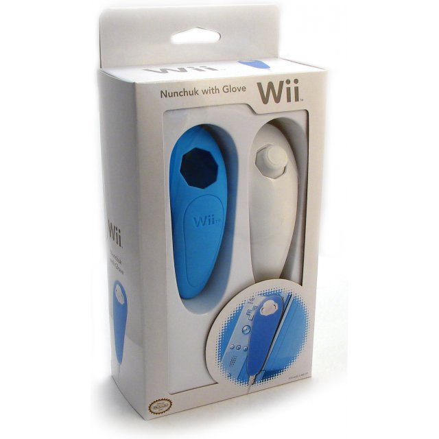 Wii Nunchuk with Glove (Special Edition / Blue)