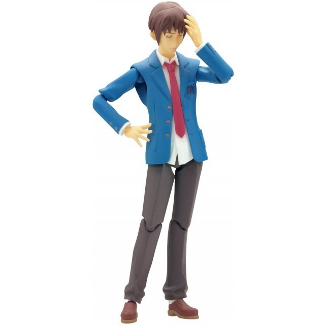 Melancholy of Haruhi Suzumiya Non Scale Pre-Painted PVC Figure: figma Kyon