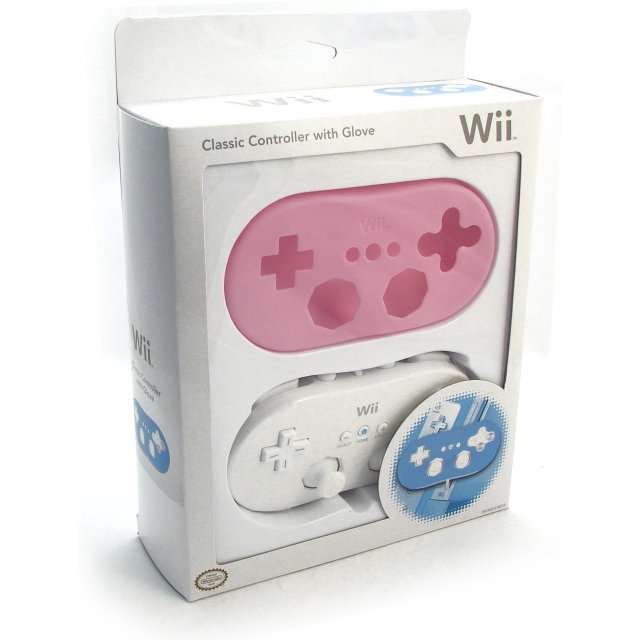 Wii Classic Controller with Glove (Special Edition / Pink)