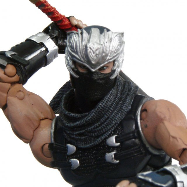 Ninja Gaiden 2 Pre-Painted Action Figure: Ryu Hayabusa