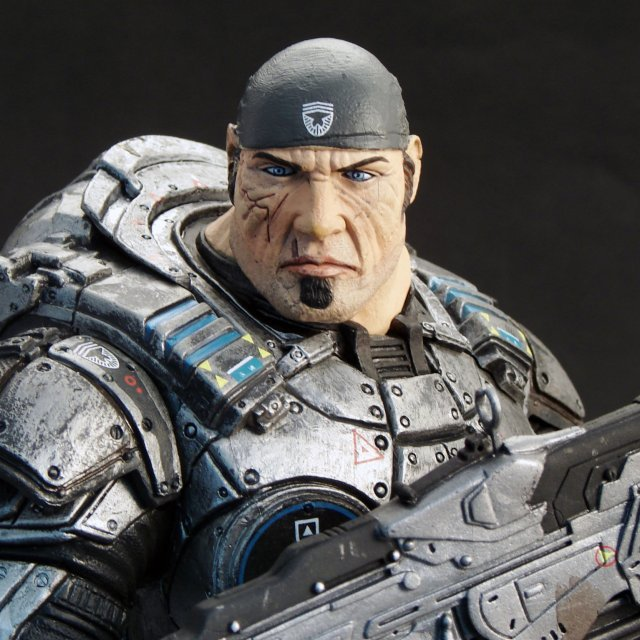 Gears of War Pre-Painted 12