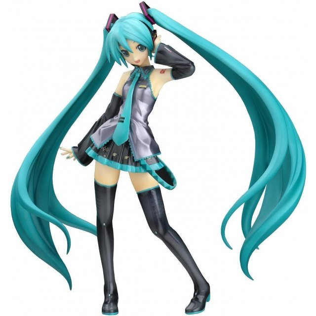 Vocaloid 1/8 Scale Pre-Painted PVC Figure: Miku Hatsune (Re-run)