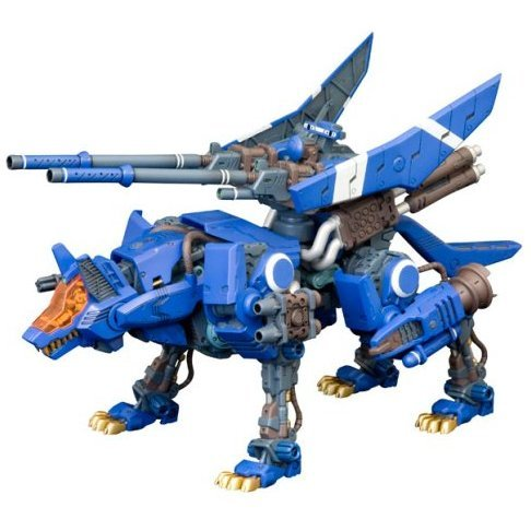 Zoids 1/72 Scale Pre-Painted Plastic Model Kit: Command Wolf Attack Custom