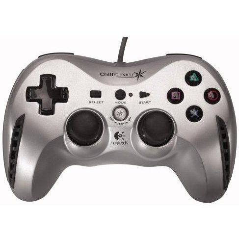 Game Controller Logicool Chillstream (Silver)