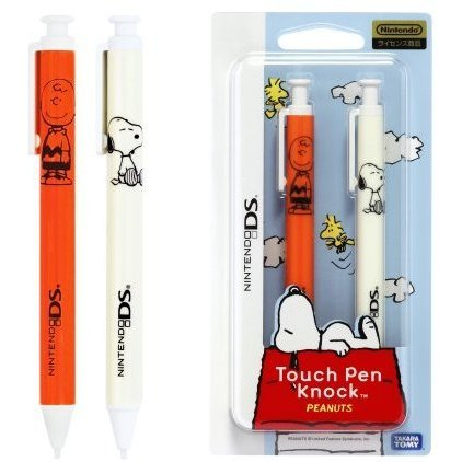 Touch Pen Knock Peanuts (Charly Brown red)