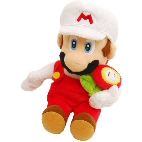 Super Mario Galaxy Plush Doll: Fire Mario