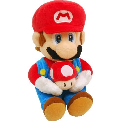 Super Mario Galaxy Plush Doll: Super Mario