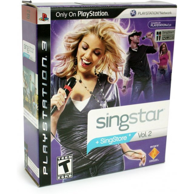 SingStar Vol. 2 Bundle (w/ 2 Microphones)