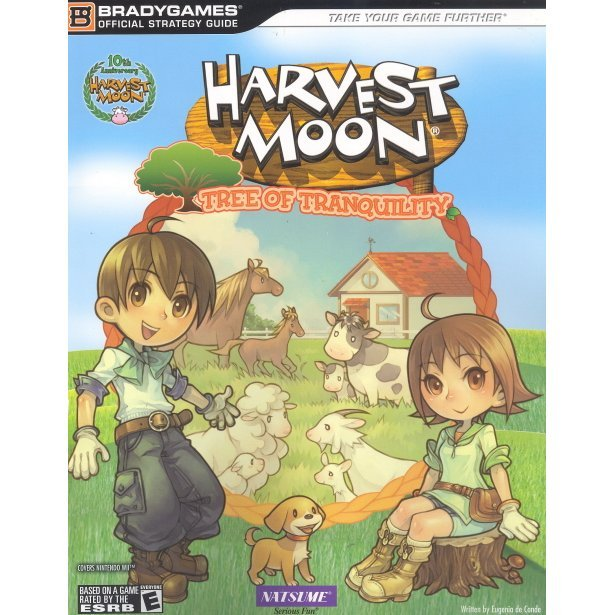 Harvest Moon: Tree of Tranquility Official Strategy Guide