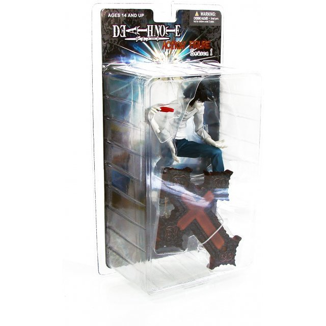 Death Note Season 1 Pre-Painted Action Figure: L