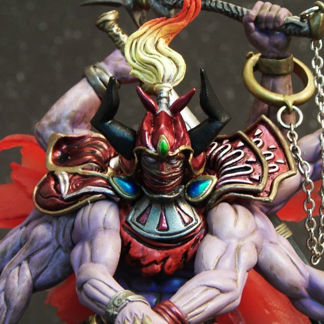 Final Fantasy Master Creatures 3 Pre-Painted Figure: Gilgamesh