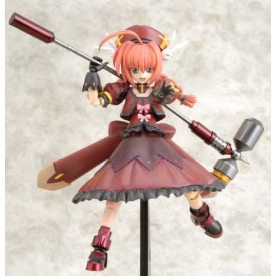 Magical Girl Lyrical Nanoha StrikerS Non Scale Pre-Painted PVC Figure: Vita