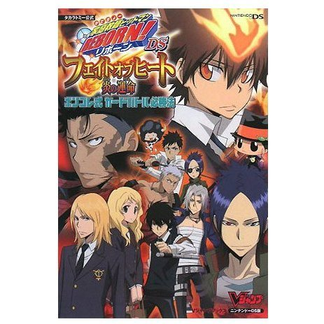 Katekyoo Hitman Reborn! Fate of Heat DS Official Guide