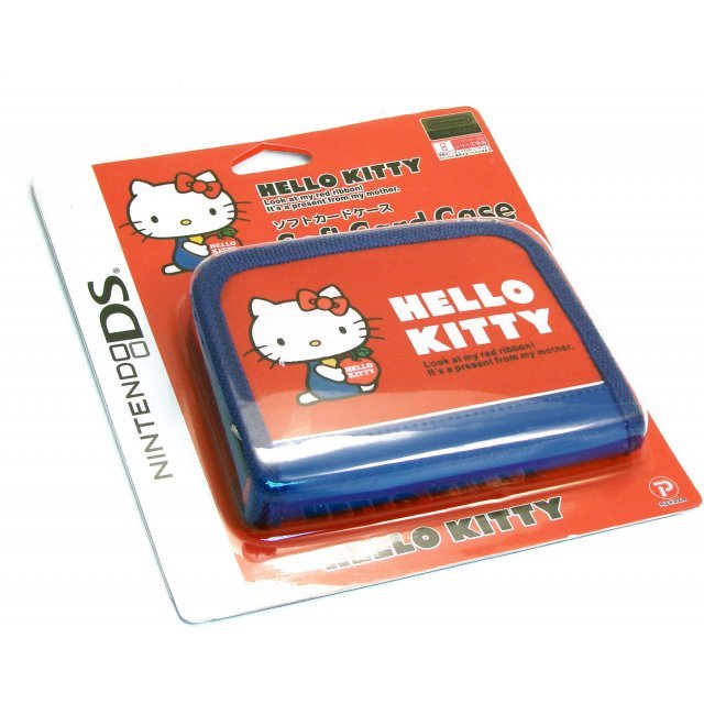 Hello Kitty Soft Card Case (Red)