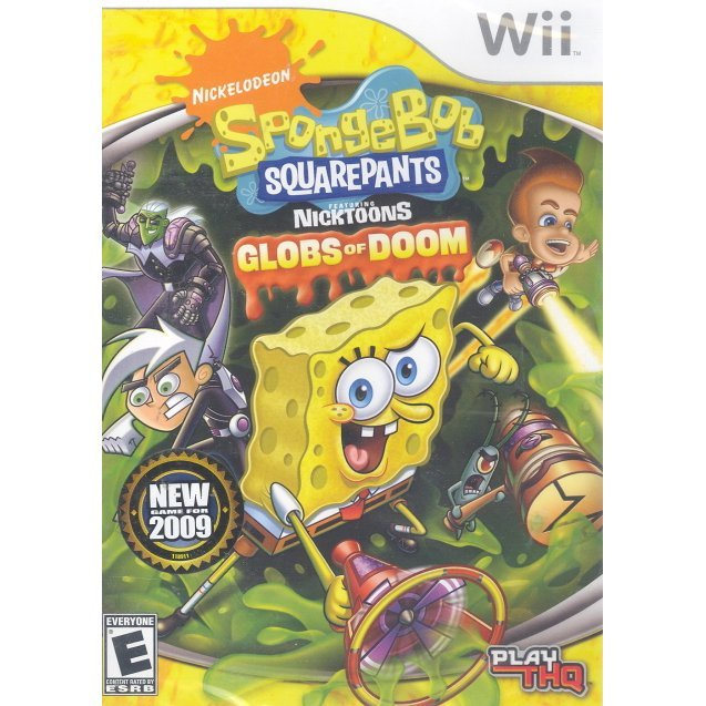 Spongebob Squarepants featuring the Nicktoons: Globs of Doom