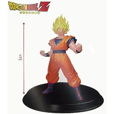 Dragon Ball Z DX Vol. 2 Non Scale Pre-Painted Figure: Super Saiyan Goku