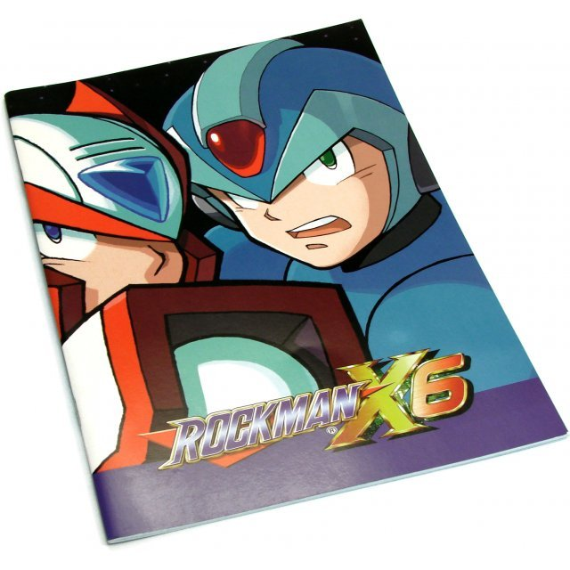 Rockman X6 Notebook (X and Zero)