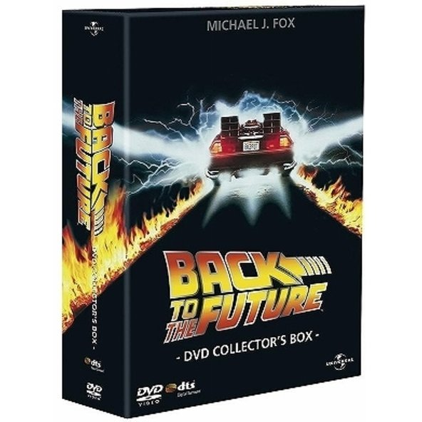 Back To The Future DVD Collector's Box [Limited Edition]