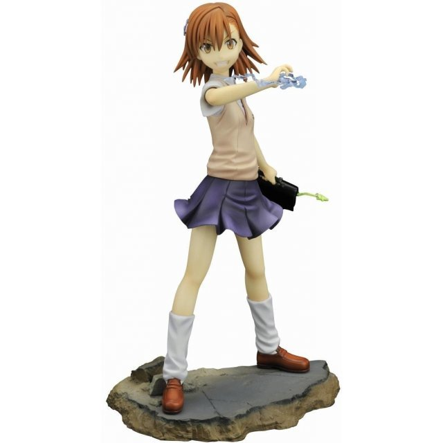 A Certain Magical Index: To Aru Majutsu no Index 1/8 Scale Pre-Painted PVC Figure: Misaka Mikoto