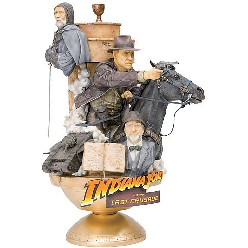 ARTFX Theatre Indiana Jones Non Scale Pre-Painted Statue: Indiana Jones and the Last Crusade