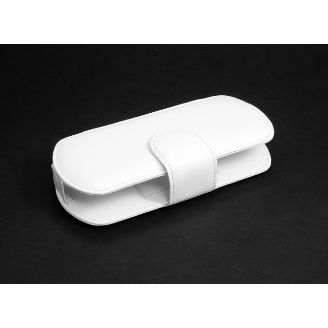 Eigertec Deluxe Leather Case DoubleU (white)
