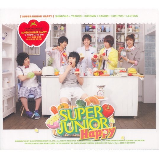 Super Junior - Happy 1st Mini Album - Cooking? Cooking!