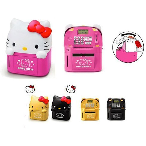 Hello Kitty ATM Piggy Bank (Pink)