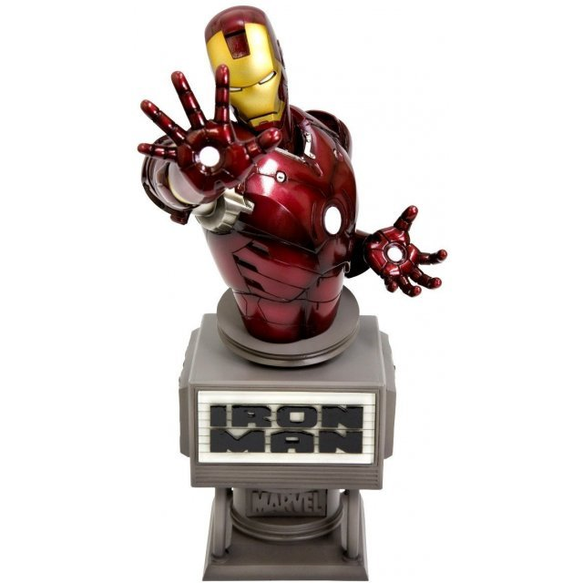 Iron Man Movie Fine Art Bust Non Scale Pre-Painted Cold Cast Statue: Ironman