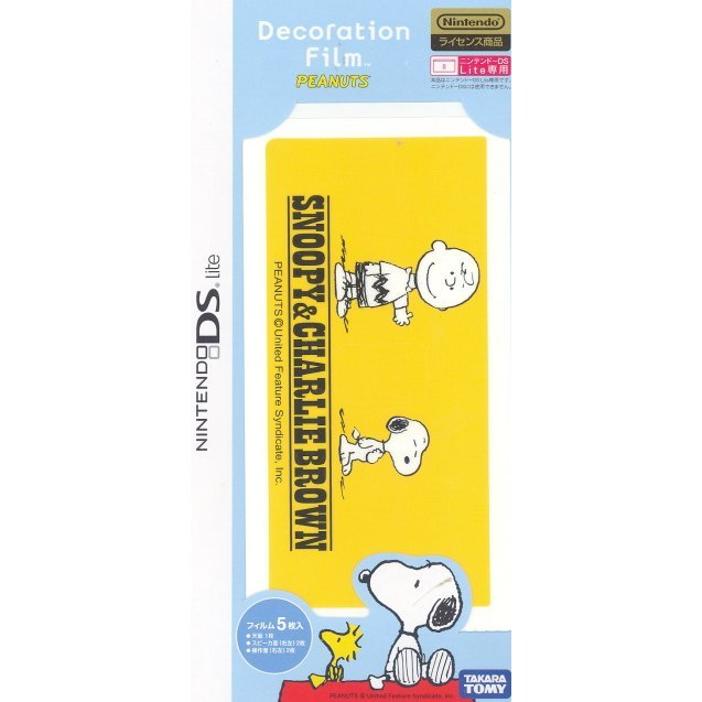 Decoration Film Peanuts (Yellow)