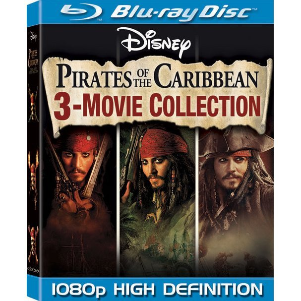 Pirates of the Caribbean: 3 - Movie Collection