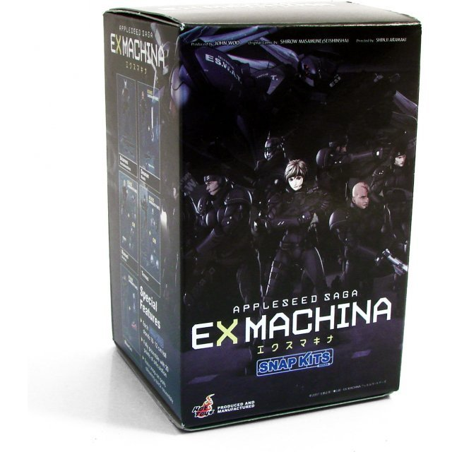 Appleseed EX Machina Pre-Painted Snap Kits Trading Figure