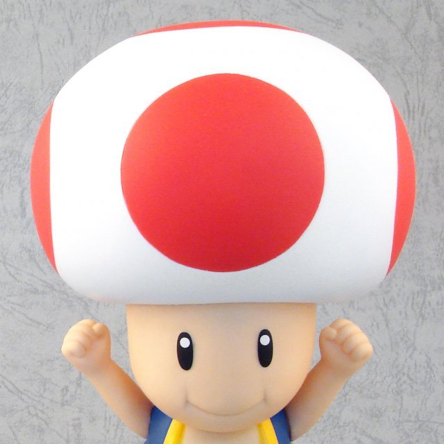 Super Mario Super DX Vol. 7 Pre-Painted Figure: Toad