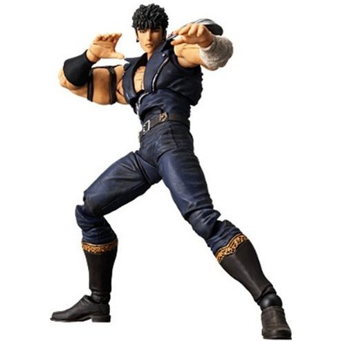 Revoltech Fist of The North Star Revolution No. 001 Non Scale Pre-Painted PVC Figure: Kenshiro