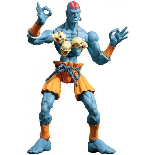 Street Fighter Revolutions Action Figure: Blue Dhalsim