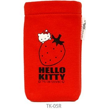 Hello Kitty Pocket Pouch (Red)