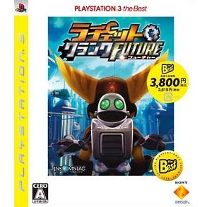 Ratchet & Clank Future: Tools of Destruction (PlayStation3 the Best) [Cracked Case]