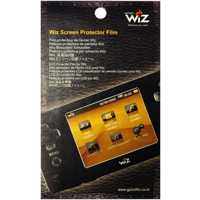 GP2X Wiz Screen Protector Film